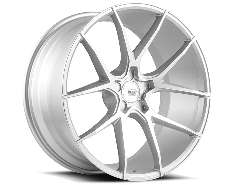 Savini BM14-19095547R4079 di Forza Brushed Silver BM14 Wheel 19x9.5 5x120.65 40mm