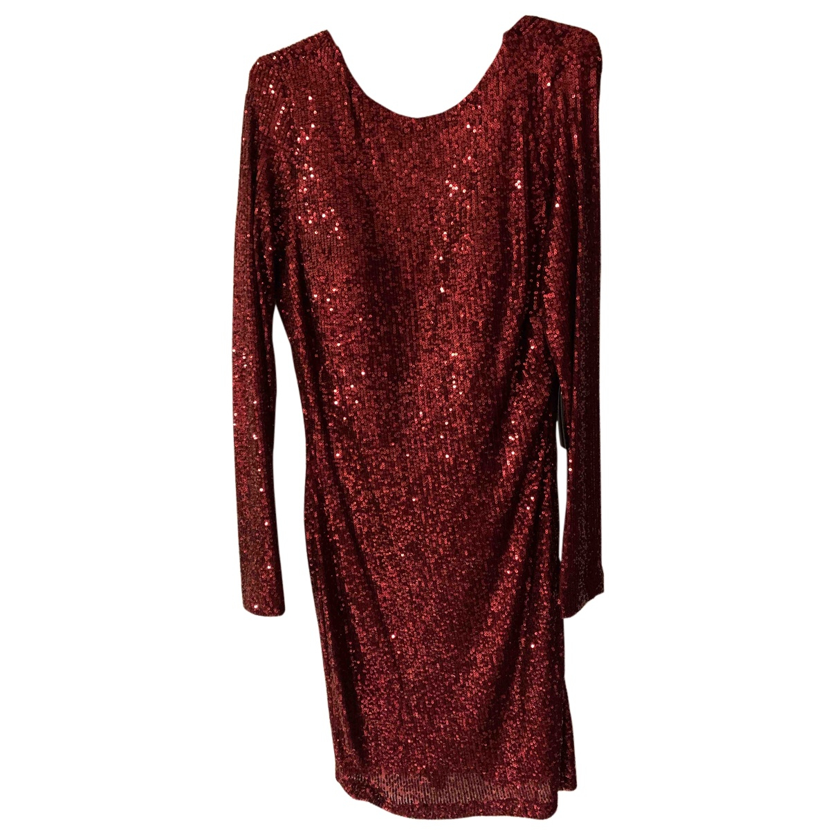 Non Signe / Unsigned \N Kleid in  Rot Polyester