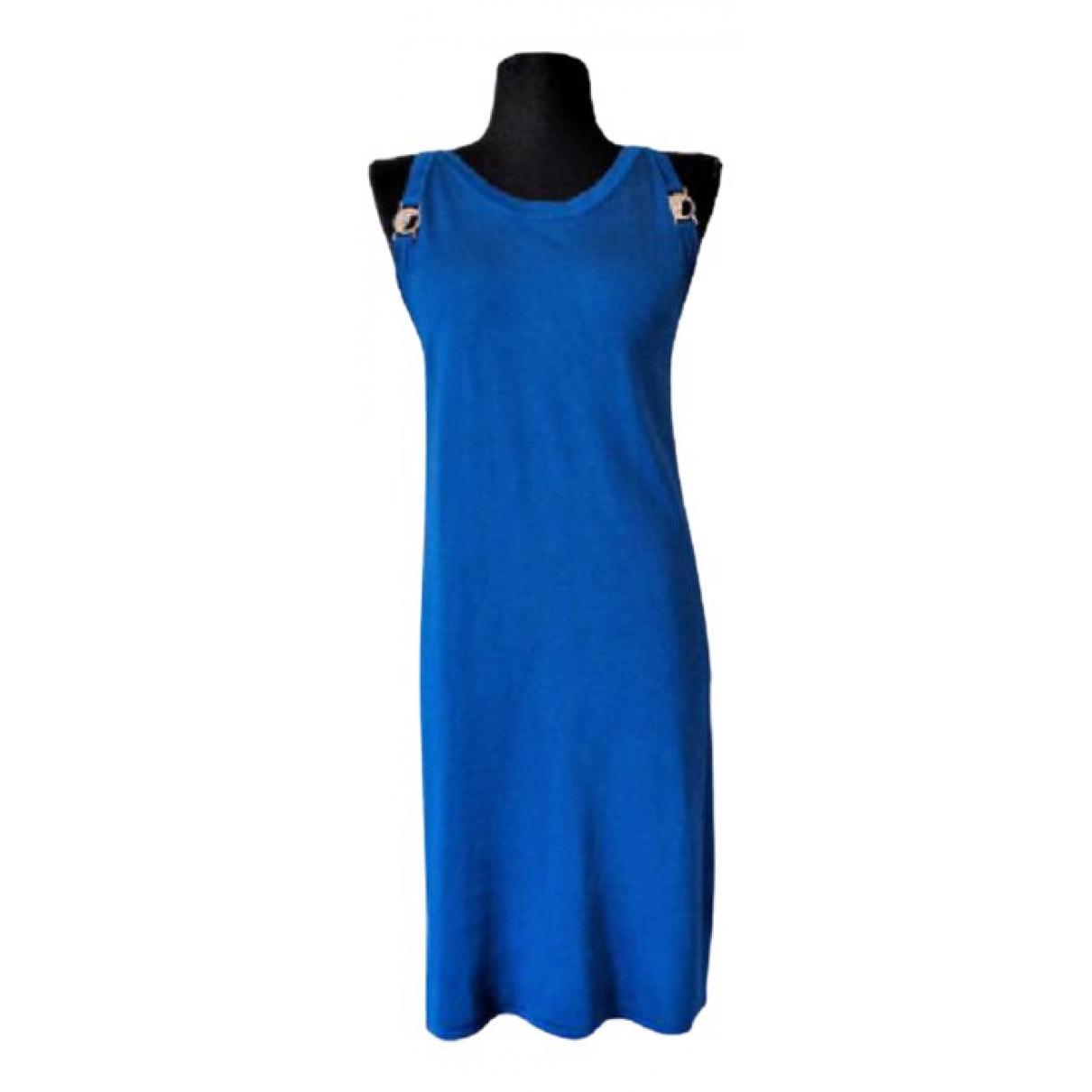 Versace \N Kleid in  Blau Viskose