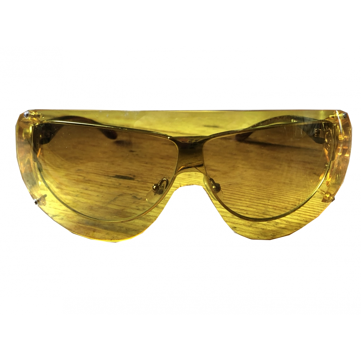 Jean Paul Gaultier \N Sonnenbrillen in  Gelb Kunststoff