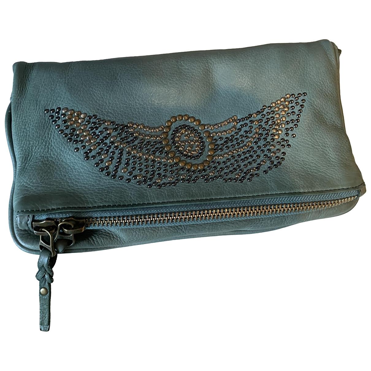 Zadig & Voltaire Rock Green Leather handbag for Women \N