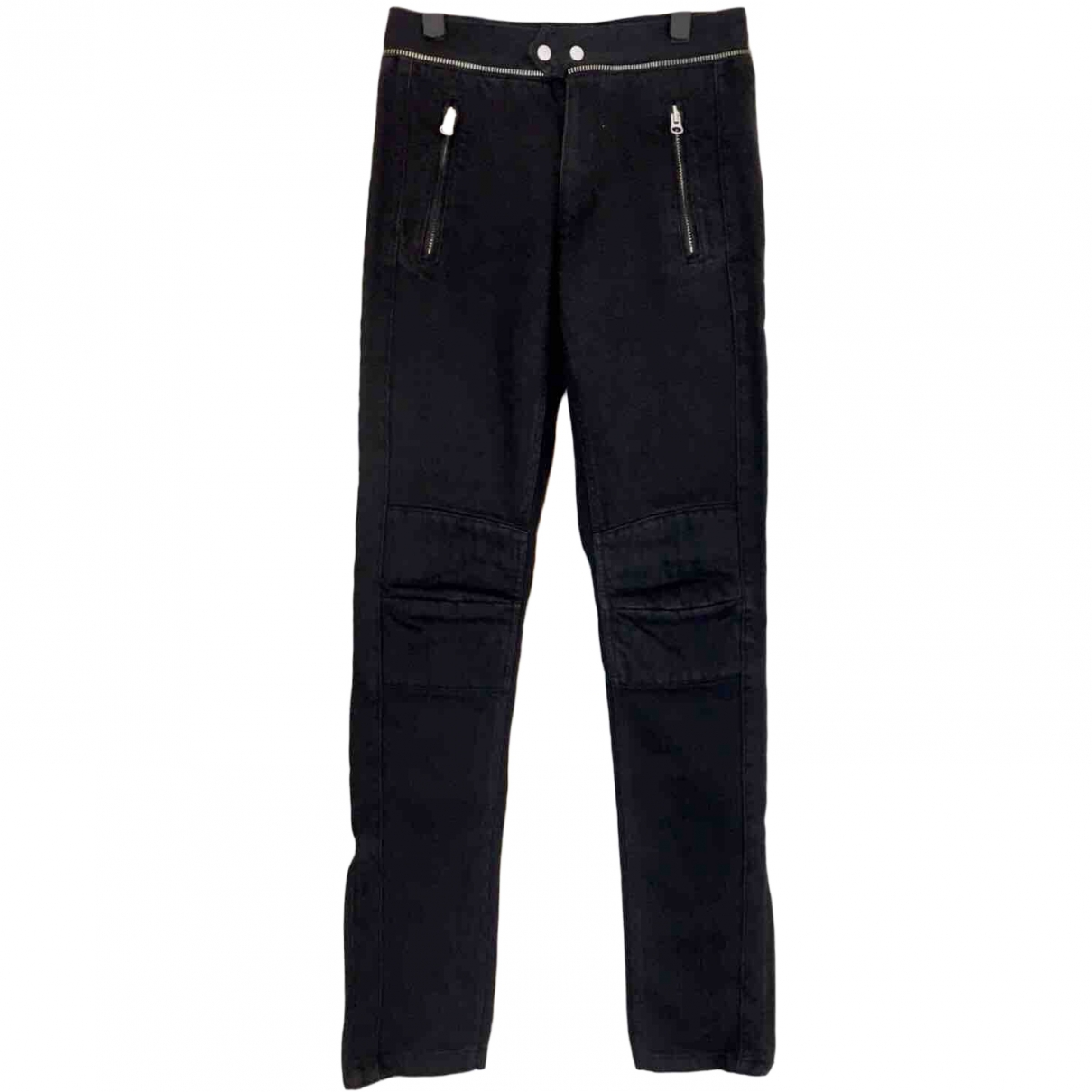 Isabel Marant Pour H&m \N Black Cotton - elasthane Jeans for Men 33 US
