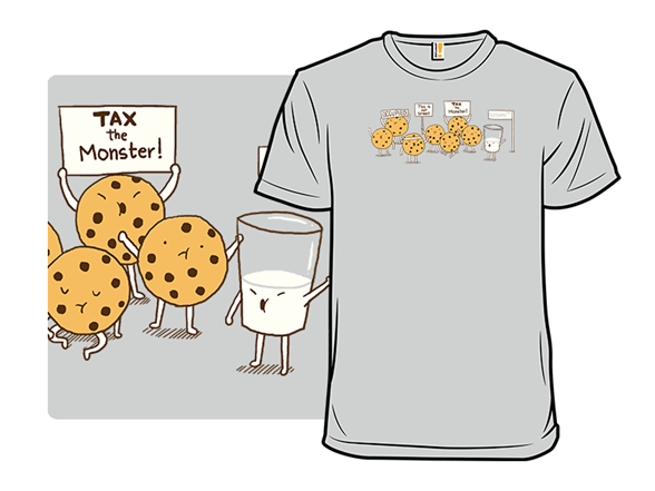 Support The 2% (milk) T Shirt