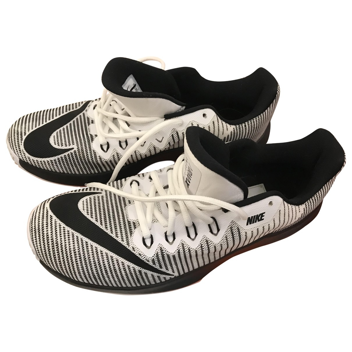Nike \N Anthracite Rubber Trainers for Men 44 EU