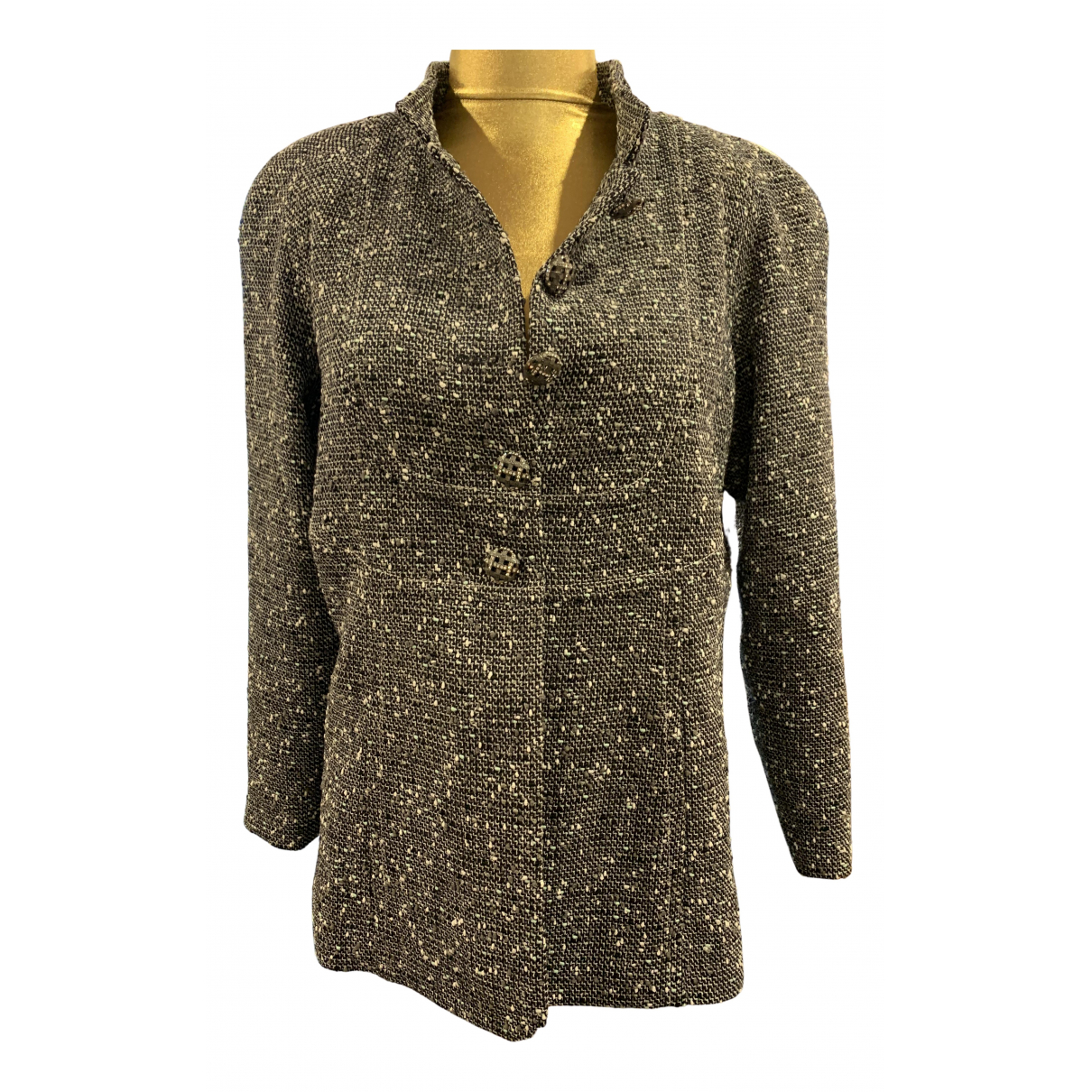 Chanel N Multicolour Silk jacket for Women 44 FR