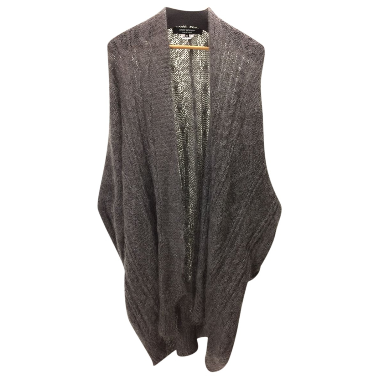 Junya Watanabe N Grey Wool Knitwear for Women M International