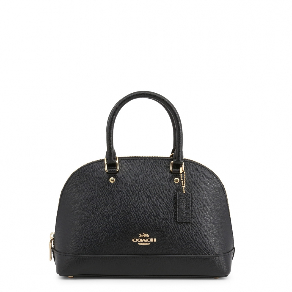 Coach Cartable mini sierra Black Leather handbag for Women \N