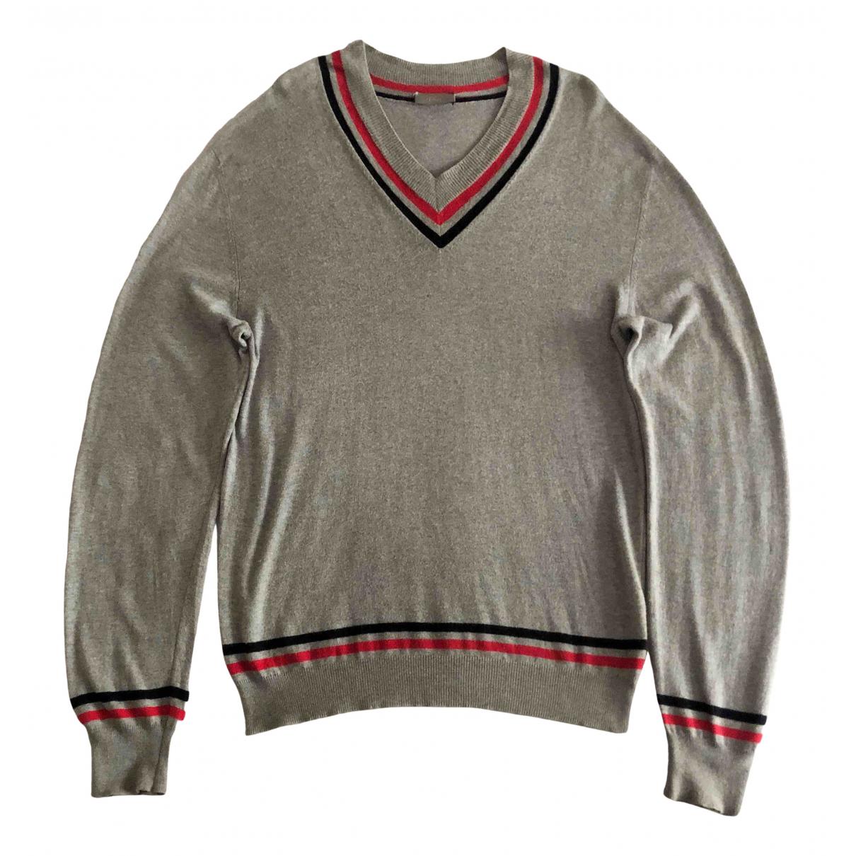 Dior Homme - Pulls.Gilets.Sweats   pour homme en coton - gris