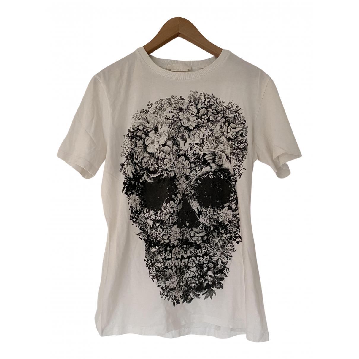 Alexander Mcqueen \N T-Shirts in  Weiss Baumwolle