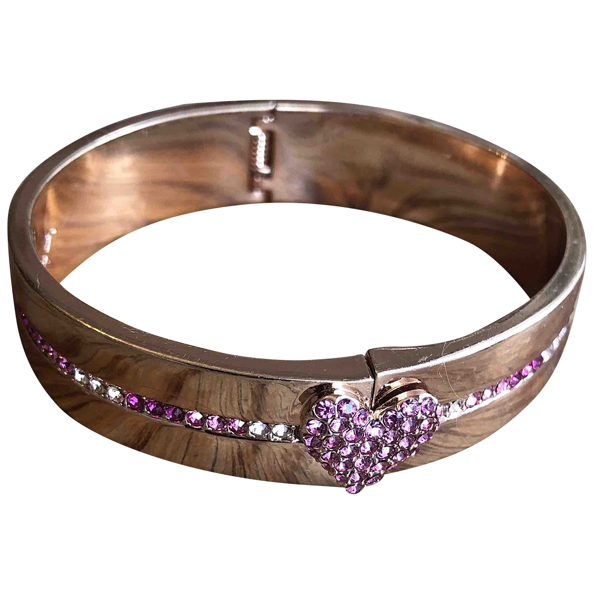 - Bracelet   pour femme en metal - rose