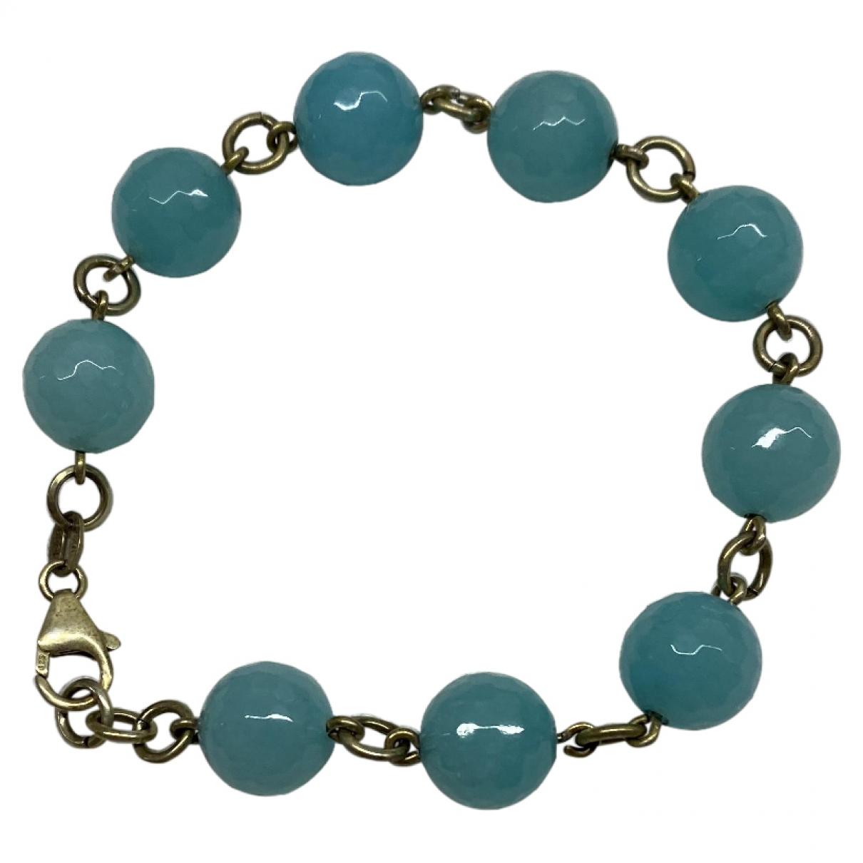 - Bracelet   pour femme en metal - bleu