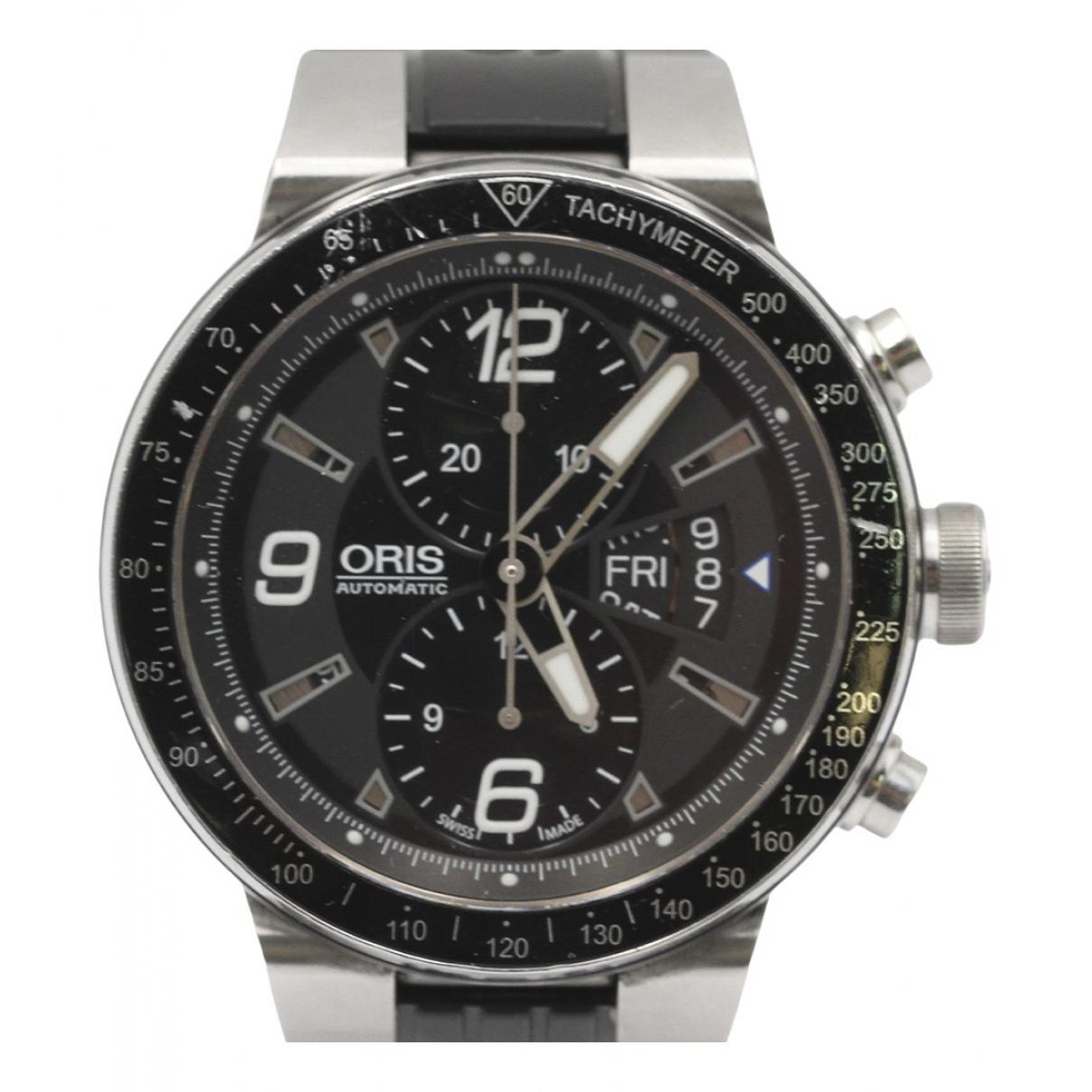 Oris \N Uhr in  Schwarz Stahl