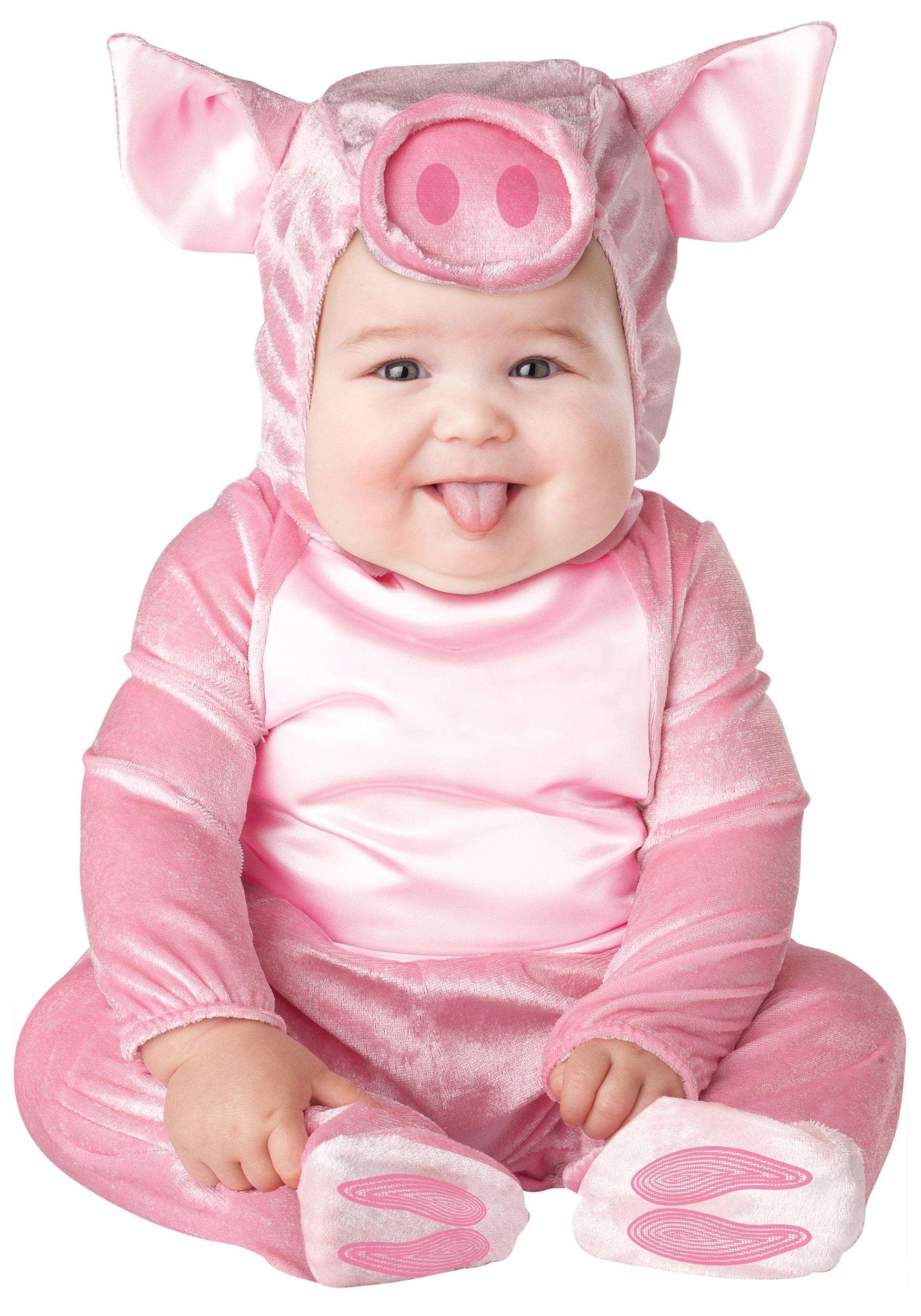 Infant Lil Piggy Costume