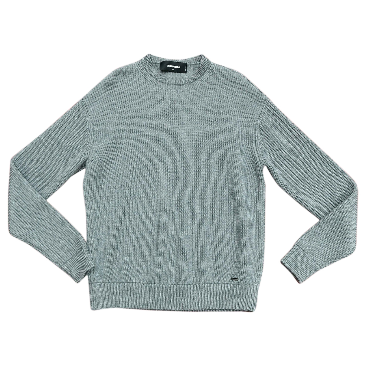 Dsquared2 \N Pullover.Westen.Sweatshirts  in  Grau Wolle