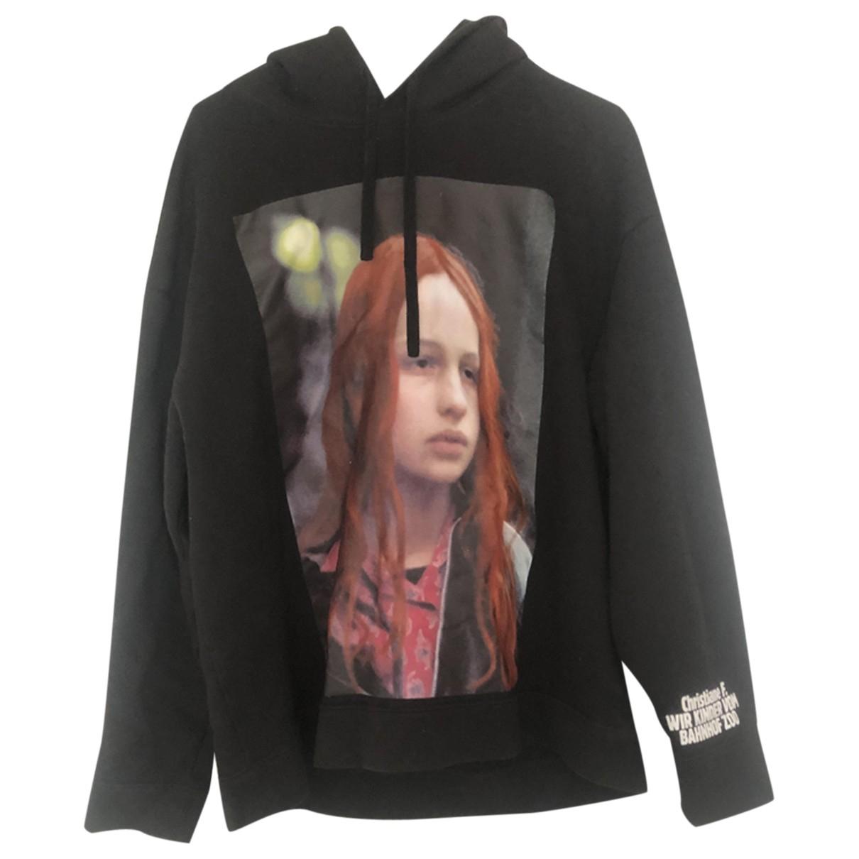 Raf Simons \N Black Cotton Knitwear & Sweatshirts for Men S International