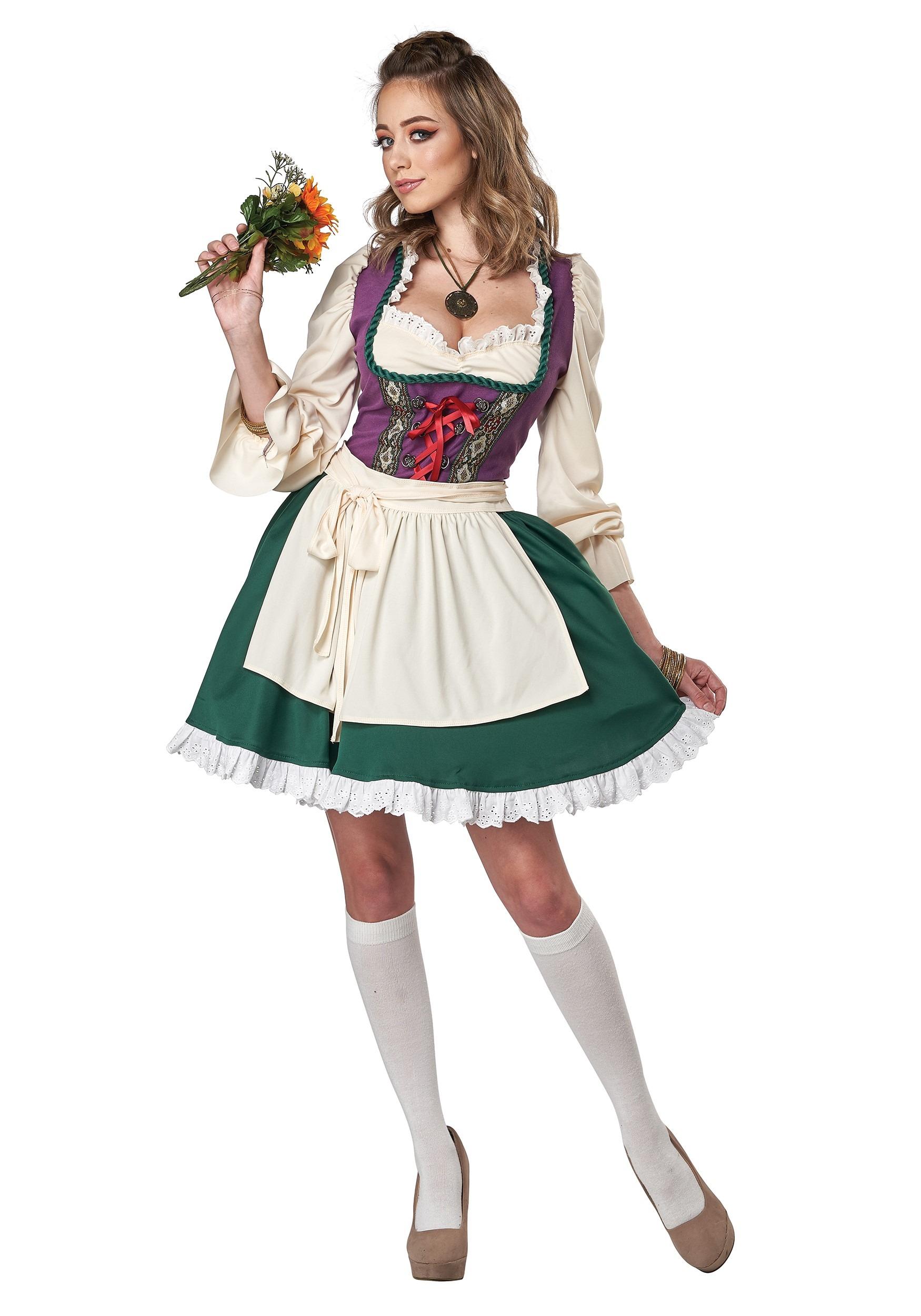 Beer Garden Girl Women's  Costume