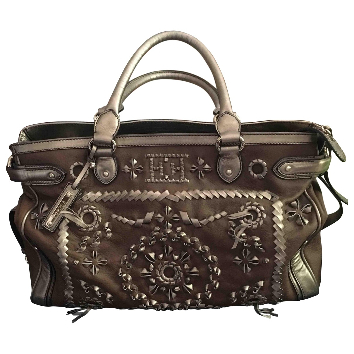 Escada \N Brown Leather handbag for Women \N
