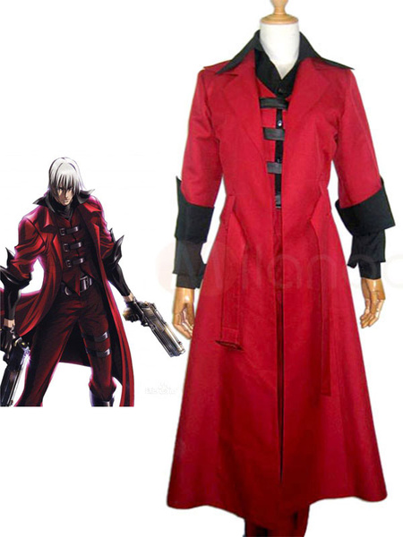 Milanoo Halloween Traje de Dante de Devil May Cry 2