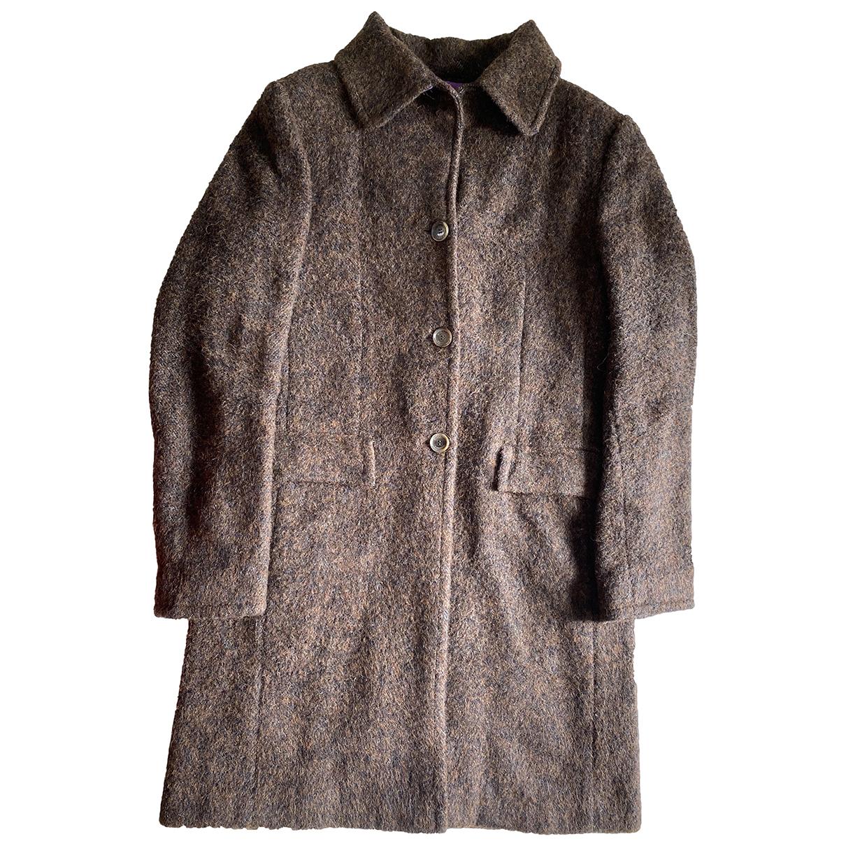 Missoni - Manteau   pour femme en laine - marron