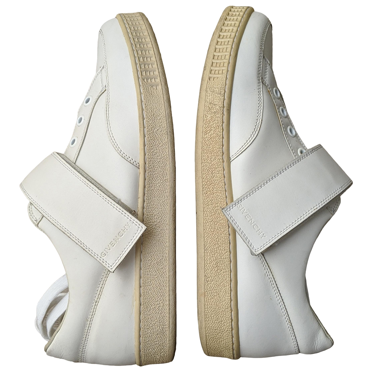 Givenchy Tyson Sneakers in  Weiss Leder