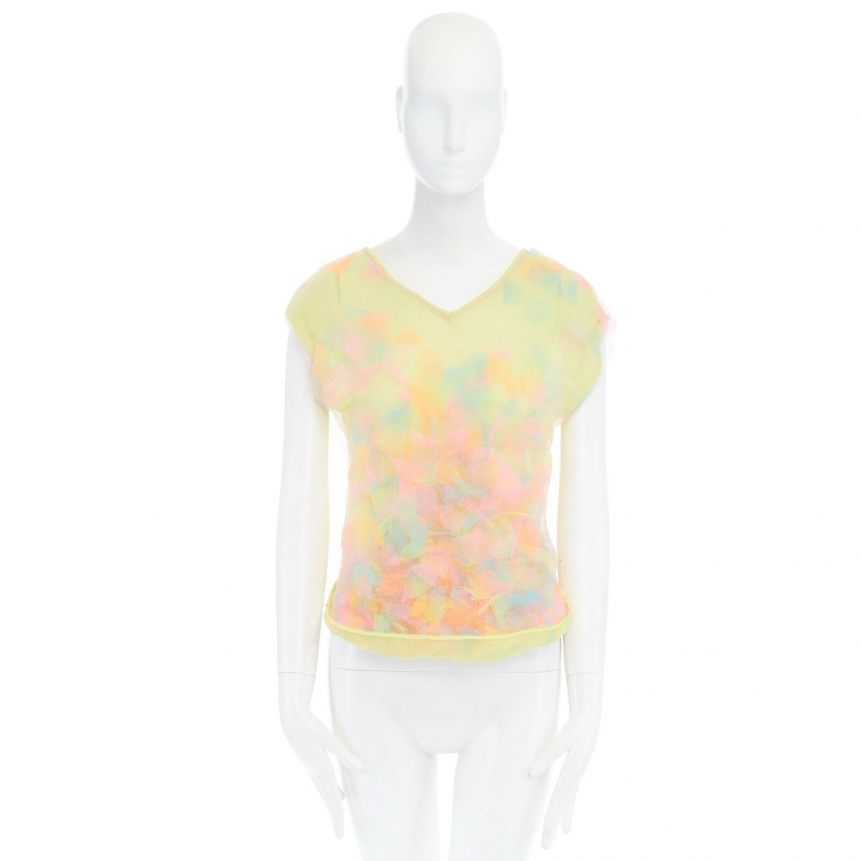 Issey Miyake \N Multicolour Cotton  top for Women 38 FR
