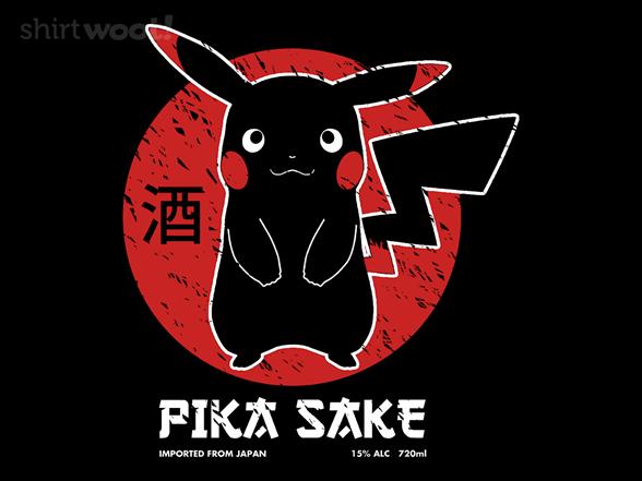 Pika Sake T Shirt