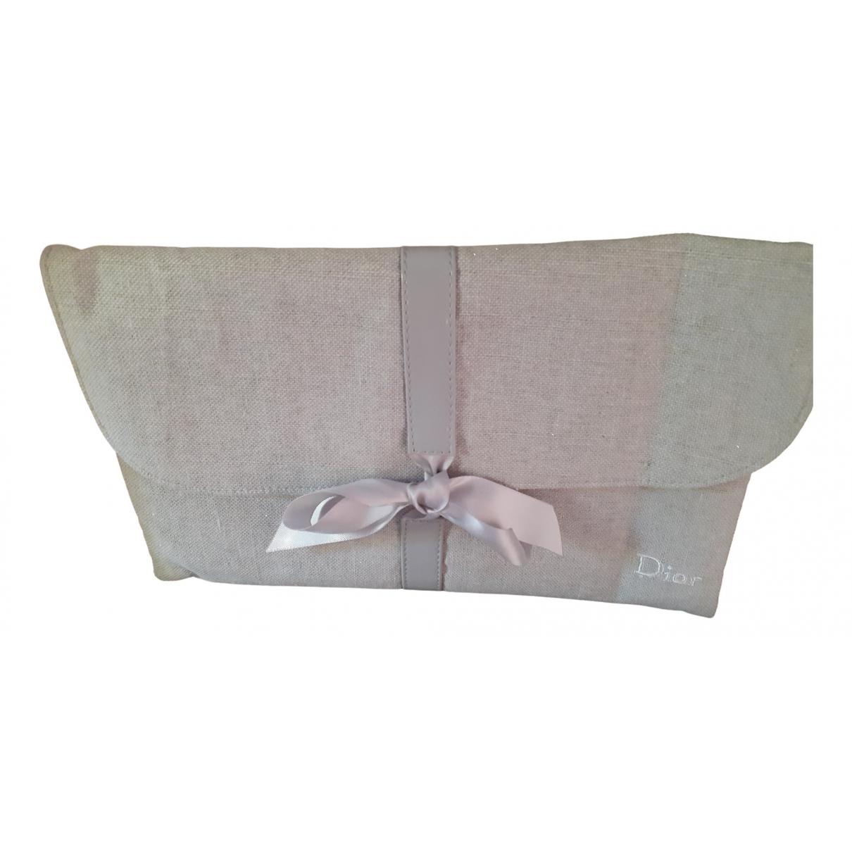 Dior Charming Grey Cloth Clutch bag for Women \N