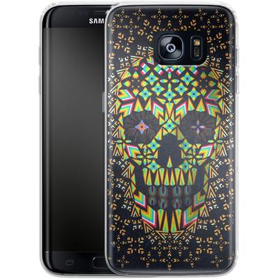 Samsung Galaxy S7 Edge Silikon Handyhuelle - Skull 6 von Ali Gulec
