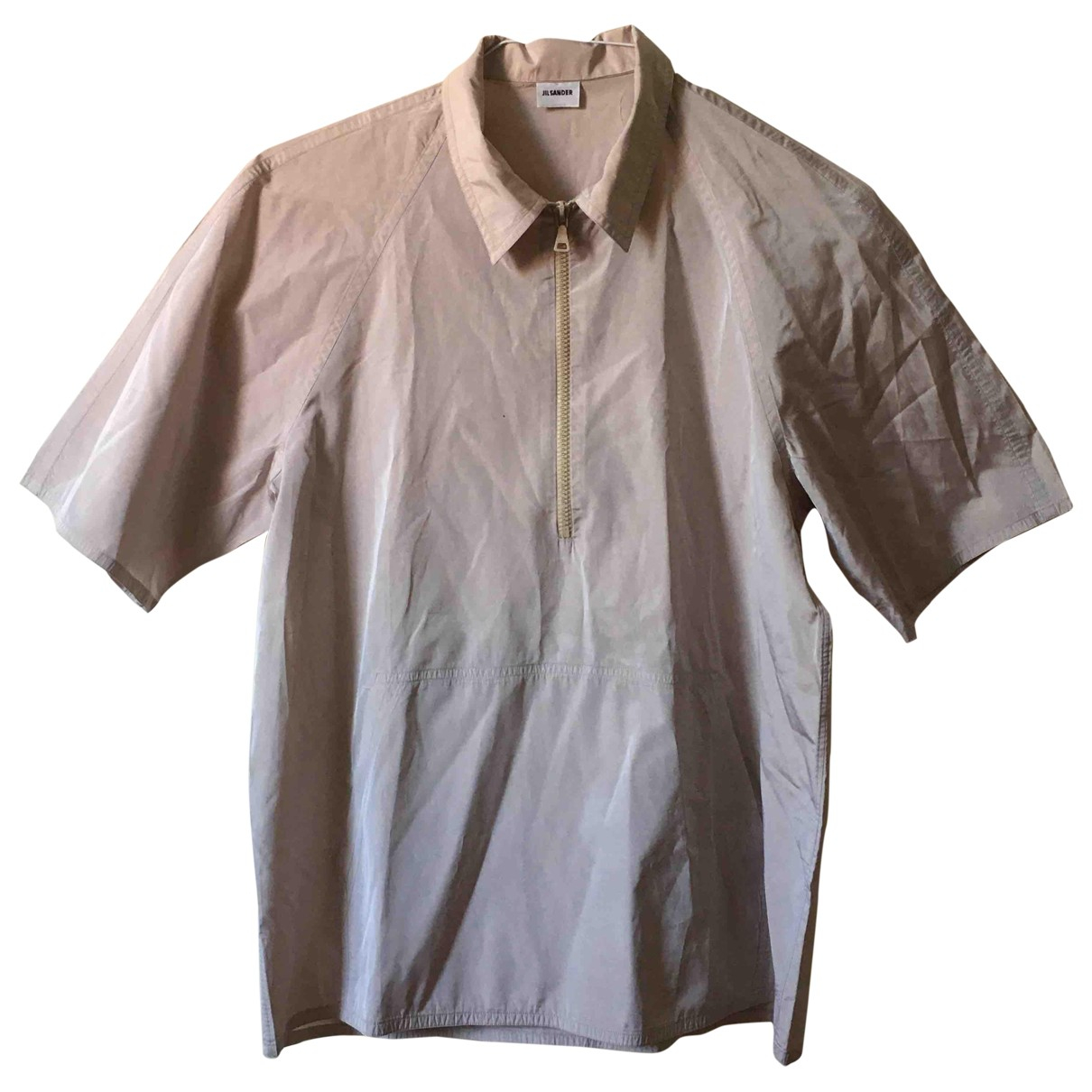 Jil Sander \N Pink Shirts for Men 42 EU (tour de cou / collar)
