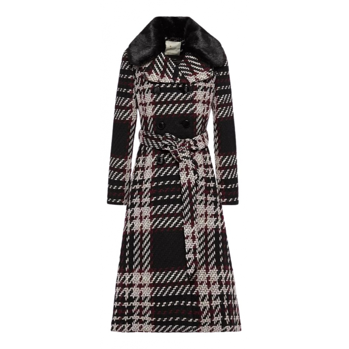 Kate Spade - Manteau   pour femme en laine - multicolore