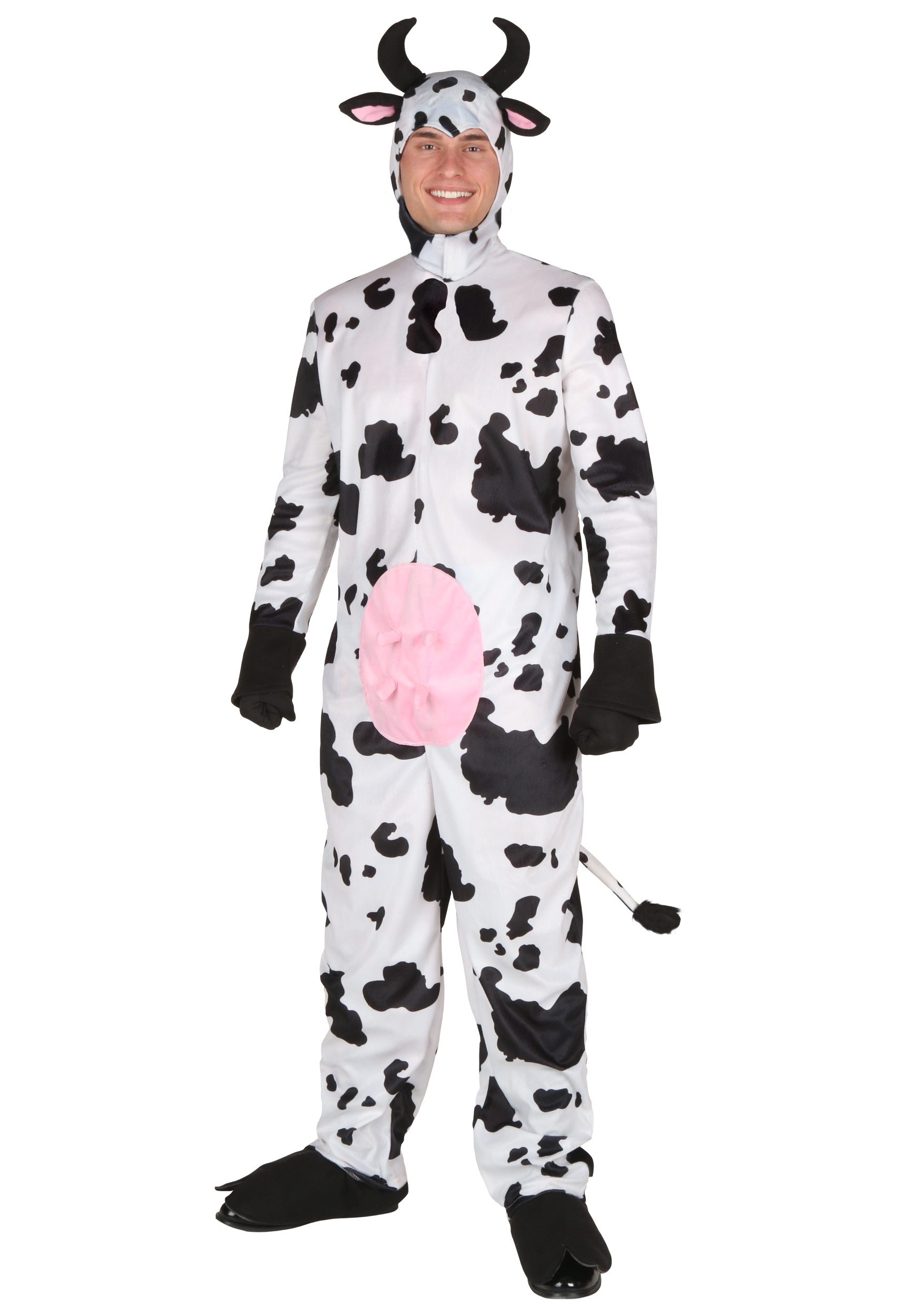 Deluxe Cow Costume for Adults