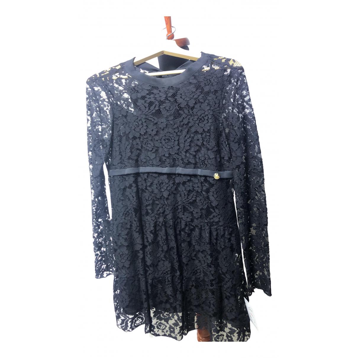 Mangano - Robe   pour femme en dentelle - noir