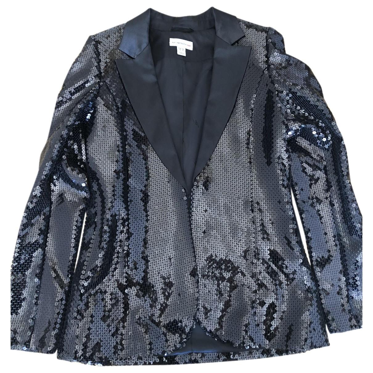 Karl Lagerfeld - Veste   pour femme en a paillettes - noir