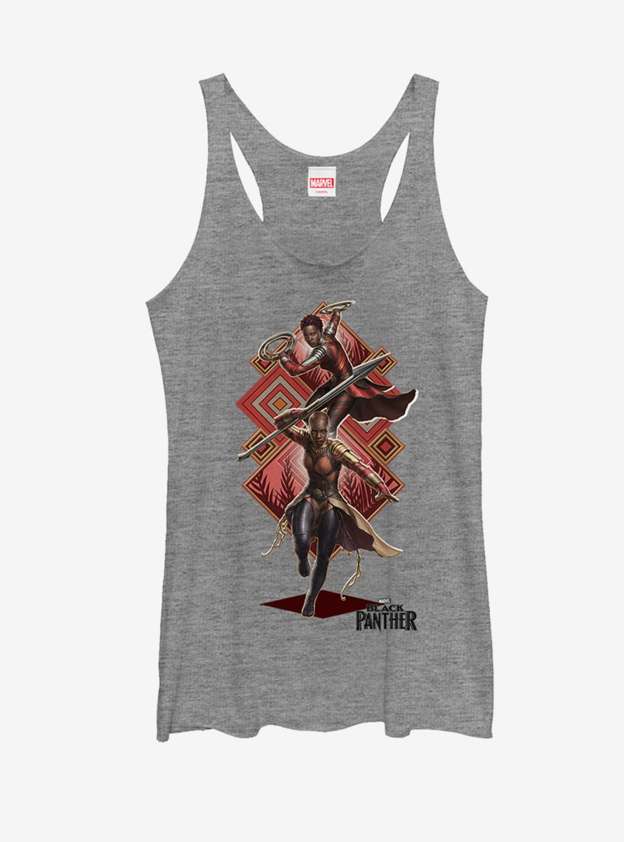Marvel Black Panther 2018 Special Forces Womens Tank