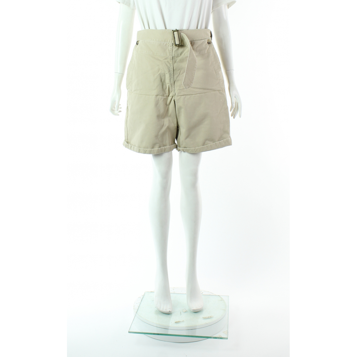 J.w. Anderson \N Shorts in  Ecru Baumwolle