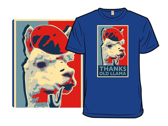 Thanks Old Llama T Shirt