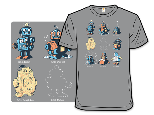 What Rhymes With Robot T Shirt