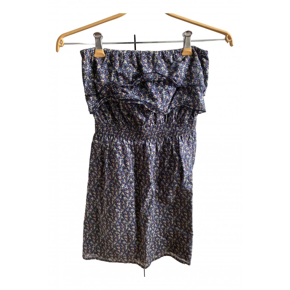 Les Petites \N Kleid in  Blau Baumwolle
