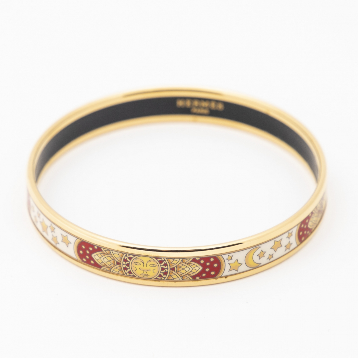 Hermes \N Armband in  Gold Metall
