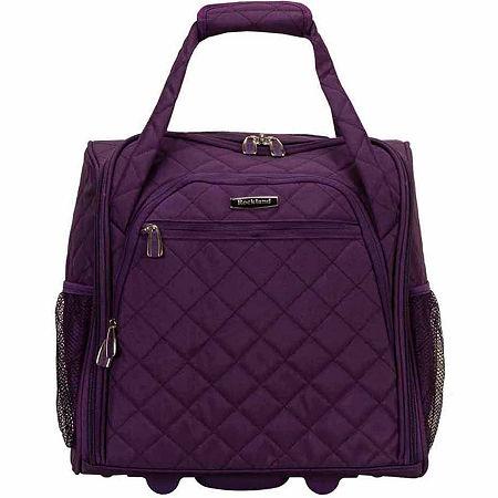 Rockland Lightweight Luggage, One Size , Purple