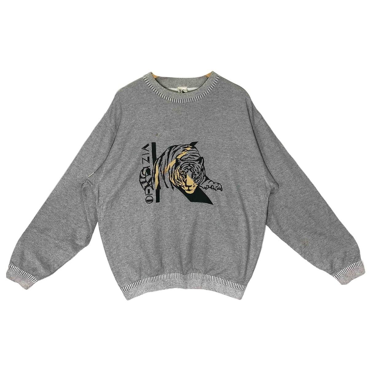 Krizia \N Pullover.Westen.Sweatshirts  in  Grau Polyester