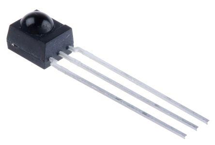 Vishay TSOP34836, 36kHz IR Receiver, 950nm, 45m Range, Through Hole, 6 x 5.6 x 6.95mm (5)