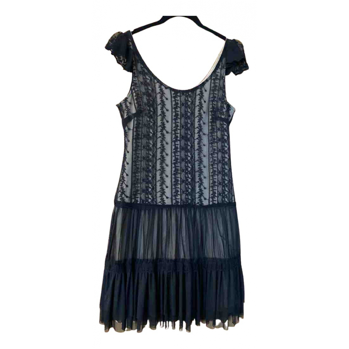 Non Signé / Unsigned N Black Cotton dress for Women S International