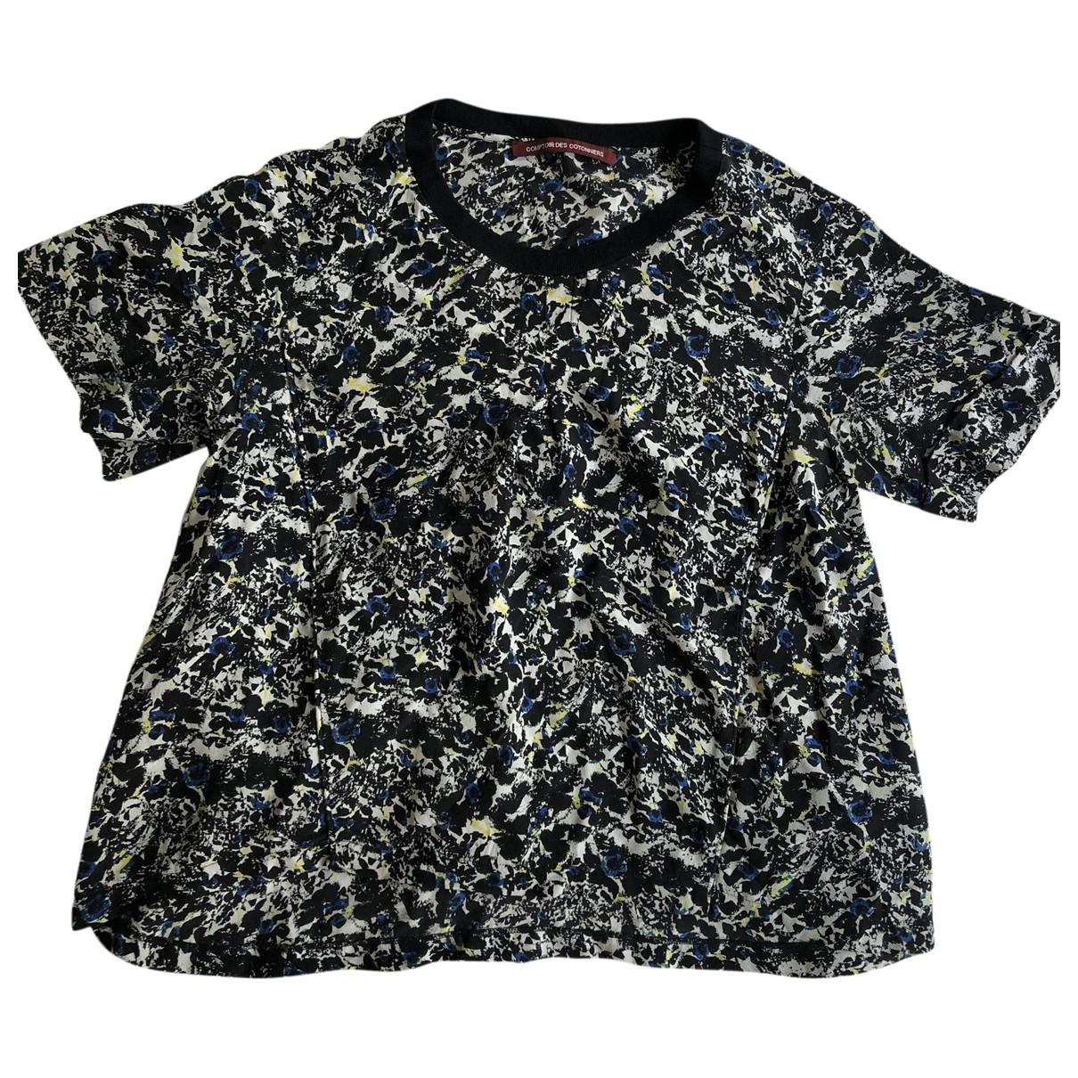 Comptoir Des Cotonniers - Top   pour femme en soie - noir