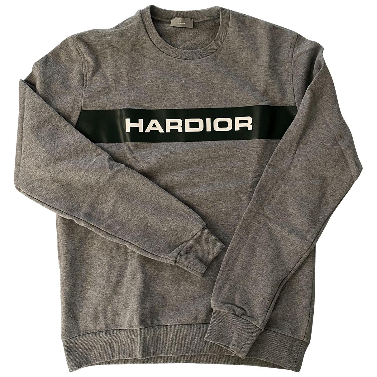 Dior Homme \N Grey Cotton Knitwear & Sweatshirts for Men L International