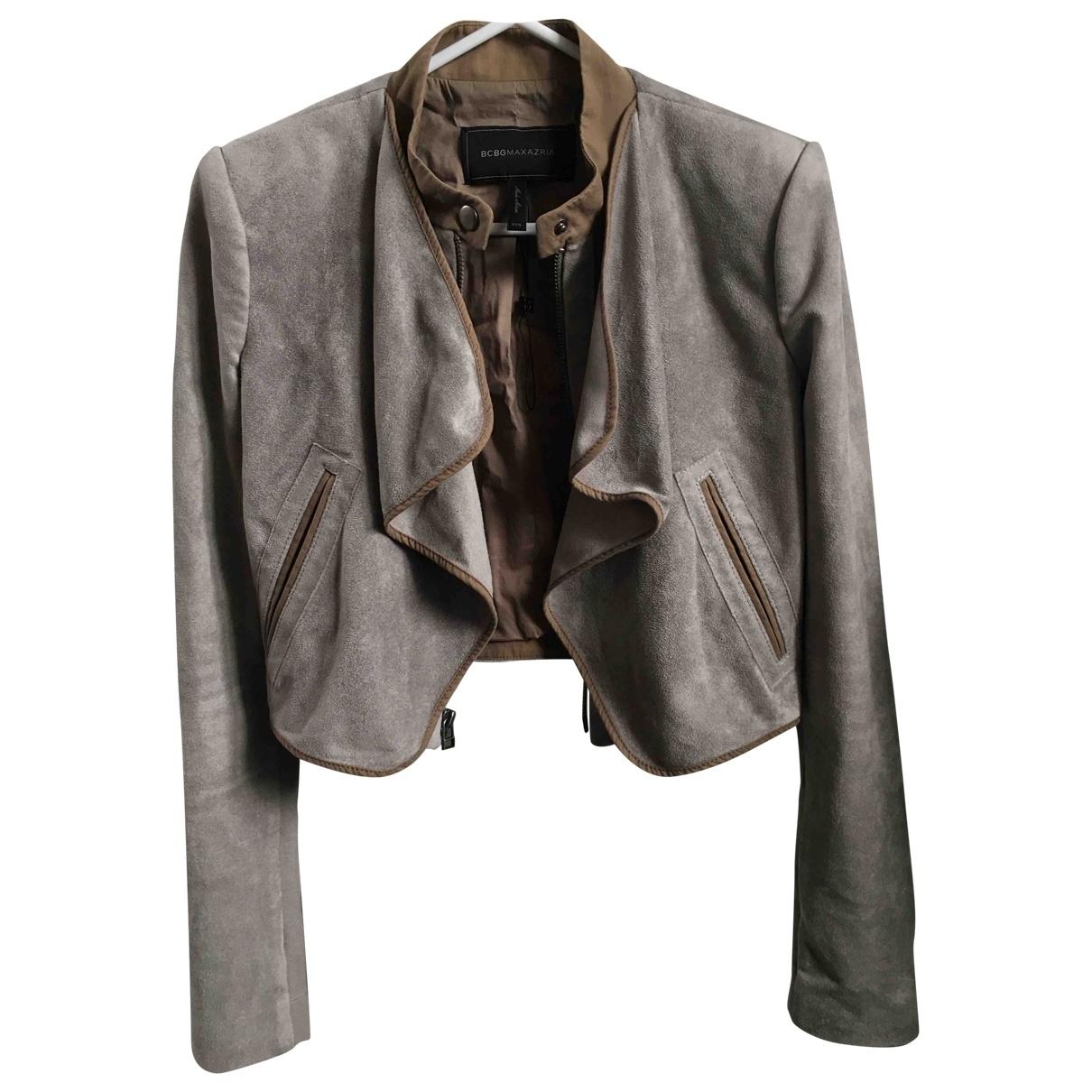 Bcbg Max Azria \N Grey Cotton jacket for Women XXS International