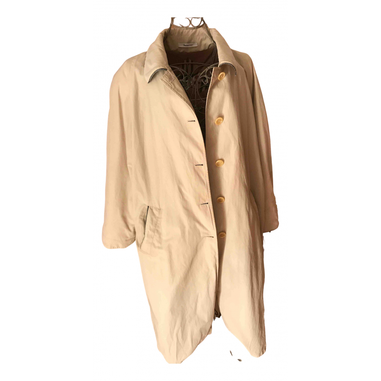Burberry N Beige Cotton Trench coat for Women 46 FR