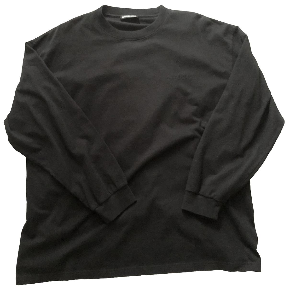 Balenciaga \N Black Cotton Knitwear & Sweatshirts for Men XXS International