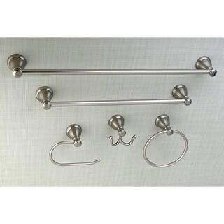 Mesa Verde 5-Piece Bathroom Accessory Set (Brushed Nickel)