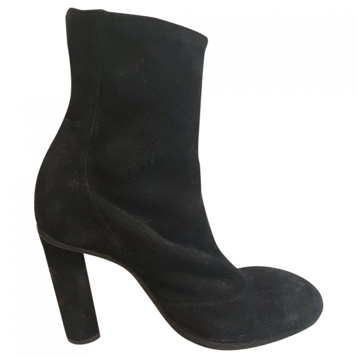 Hermès \N Black Leather Ankle boots for Women 38 EU